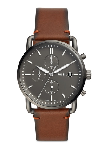 Fossil brown The Commuter Watch FS5523 C21E5ACE6494BBGS_1