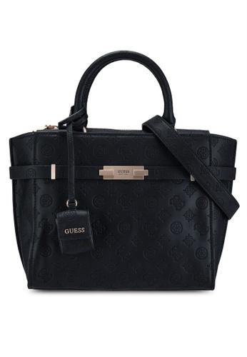Guess black Bea Society Satchel Bag 8E861AC365DECDGS_1