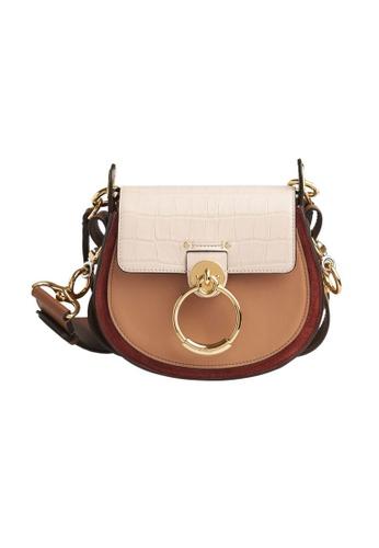 Chloe brown Chloe Small Tess Crossbody Bag in Cement Pink 795E9ACC25638DGS_1