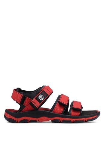 Timberland black Roslindale Back Strap Sandals 8E7AESH66516E1GS_1