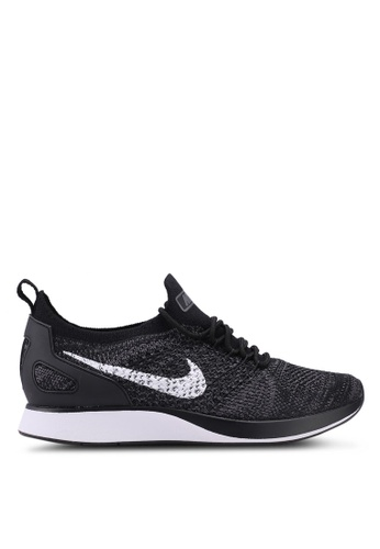 Nike black and white Women's Nike Air Zoom Mariah Flyknit Racer Shoes 60DB0SHA5352DBGS_1