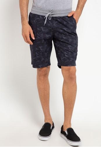 Malibu grey Bermuda Rib Short Pants 3A6A1AA00F2F11GS_1