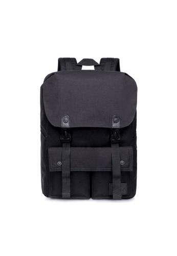 The Dude black Little Predator Backpack TH373AC83BGMHK_1