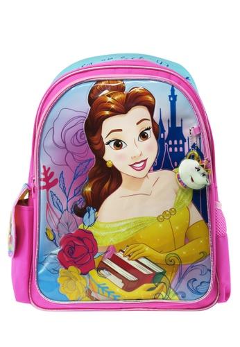 DISNEY Princess pink Disney Princess Belle BATB Primary School Bag 6AFF6KCFC3120AGS_1