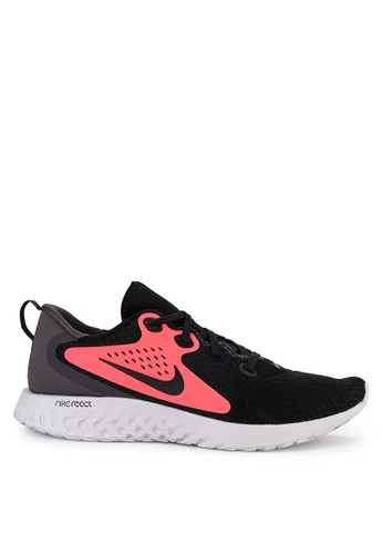 Nike black and multi Nike Legend React Shoes 86BE4SH0470AD3GS_1
