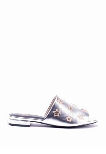 Nelissa Hilman silver Star Mule Slides 1077BSHE536A50GS_1