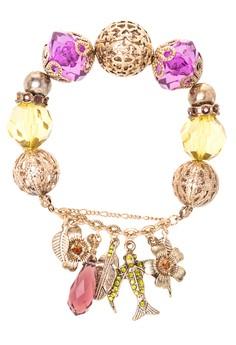 Charm Bauble Beaded Bracelet