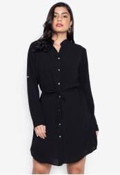 D Fashion Engineer black Jacky Long Sleeves Dress 927B9AAF3DAA14GS_1
