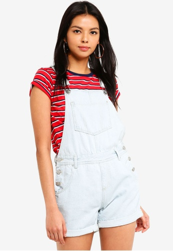 Supre blue The Denim Dungaree 2C3B6AAEDE2433GS_1