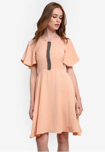 8800ebcc1c Nadia Butterfly Sleeve Dress