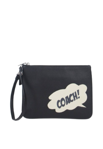 Coach black Coach X Marcel Gallery 2648 Pouch Bag In Black 7BC94AC8494C0DGS_1