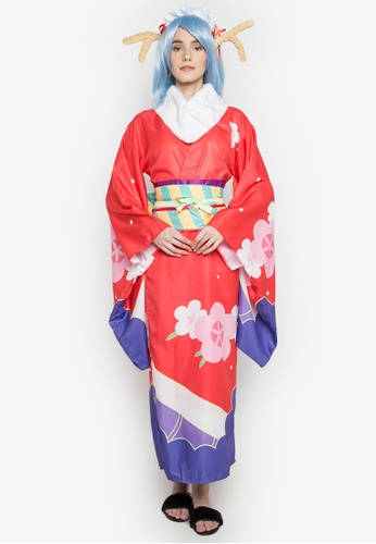 Shop Kats Clothing Japanese Kimono2271 Costume Online On Zalora