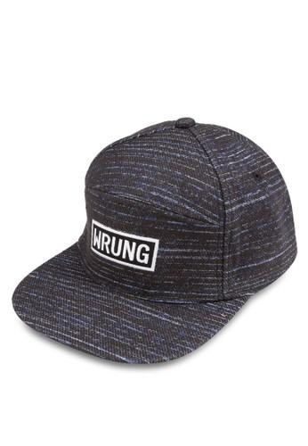 拼接平簷鴨舌帽, 飾品zalora 內衣配件, 飾品配件