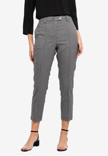 Vero Moda grey Gingham Ankle Pants 262A5AA9F1A803GS_1