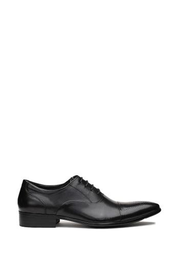Kings Collection 黑色 費舍爾牛津鞋 6A81ASH06F360DGS_1