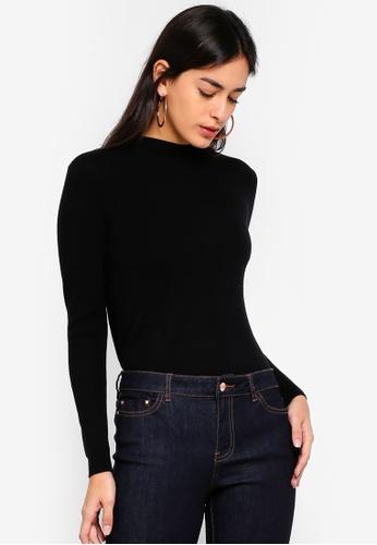 ESPRIT black Long Sleeve Pullover FCEA0AA7915041GS_1