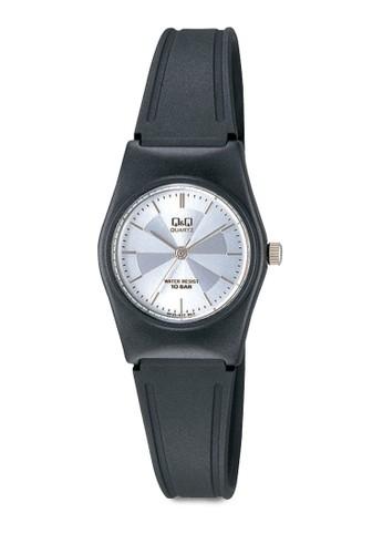 Q&Q VP35J017 數字細esprit 尖沙咀帶休閒手錶, 錶類, 其它錶帶