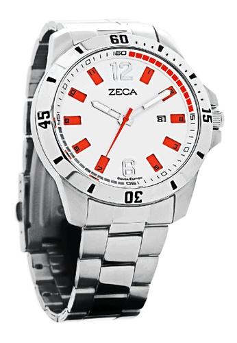 ZECA silver Zeca Watches Men Fashion Stainless Steel Analog - 2004M Silver ZE260AC0H9JOSG_1