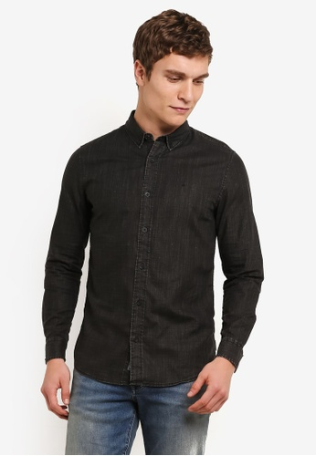 Calvin Klein black Walshner Shirt - Calvin Klein Jeans CA221AA0SA56MY_1