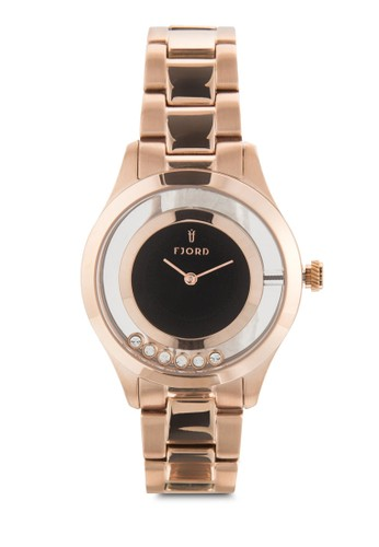 Karin 不esprit 高雄銹鋼圓框手錶, 錶類, 飾品配件