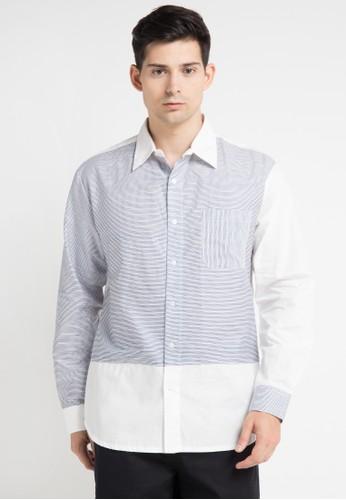 (X) S.M.L multi Lucio Shirt XS330AA0WE9MID_1