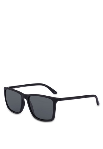 Le Specs black Tweedledum 1702030 Sunglasses 7AC8EGLD3431A4GS_1