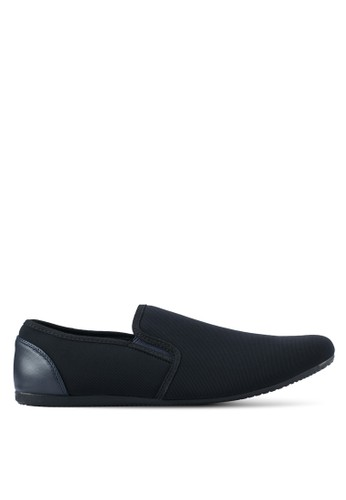UniqTee navy Classic Textile Loafers UN097SH0SYSCMY_1