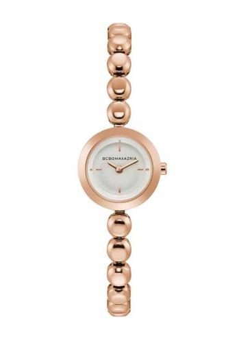 BCBG gold BCBGMAXAZRIA Rose Gold Watch 7F5FCAC93330F3GS_1