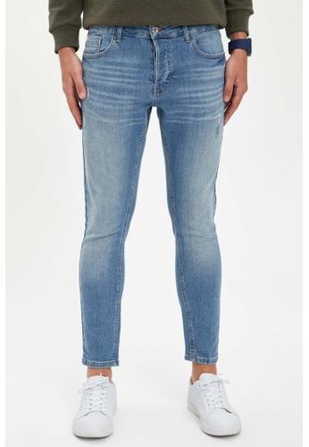 DeFacto blue Man Denim Wall Trousers 2C9ABAAE658412GS_1