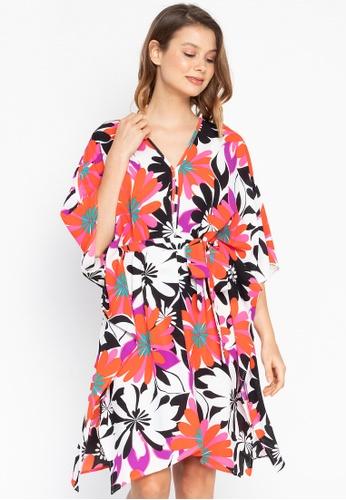 Josie multi Bold Floral Kaftan Dress 45518AAE9462E4GS_1