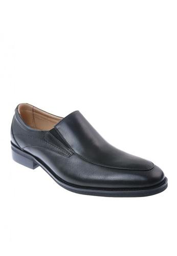 Hush Puppies black Men's Dress Casual Shoes Powell  Slip On A6A03SH05B4130GS_1