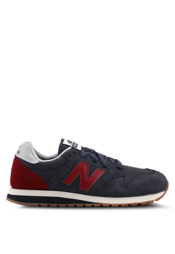 New Balance navy 520 Core Classic Shoes 2C0D8SH439A64AGS_1