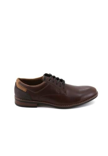 Bata Bata Men Dress Shoes - Brown 8504529 48218SHC0AE3DAGS_1