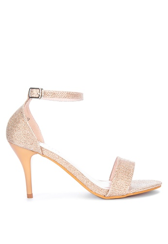 LND gold Brenda Heels Sandals D0E05SH0EB163EGS_1