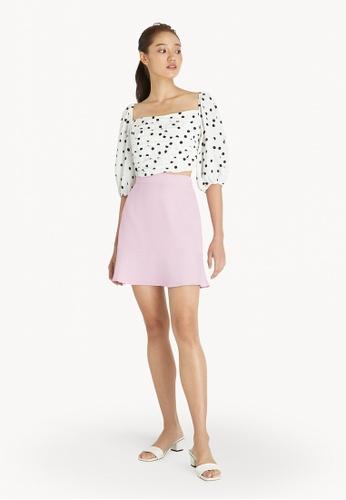 Pomelo pink Mini A Line Skirt - Pink 30EBDAA60CB7BCGS_1