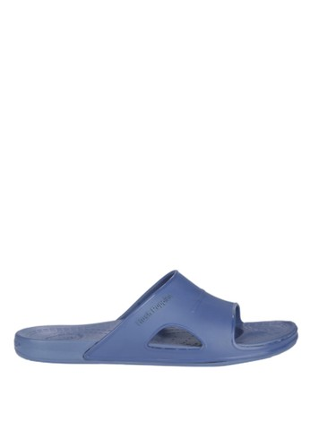 Hush Puppies Sandal Rubber Pria Pavel Solid - Navy