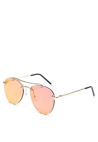 Privé Revaux 紅色 The Dutchess Sunglasses PR660GL0RC2ZMY_1