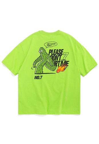 Twenty Eight Shoes Oversize Printed Short T-Shirts 1037S20 4655BAA6C07652GS_1