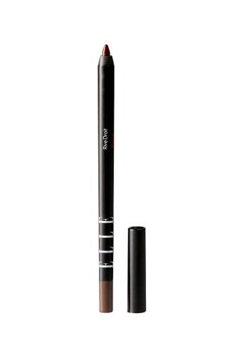 ELLE brown ELLE Makeup Eyeliner Wax Pencil Brown C8C0DBED24242AGS_1