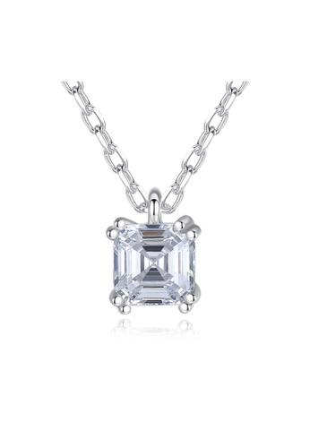 SUNRAIS silver Premium Silver S925 Silver Simple Design Necklace 4FFA2AC5702BBFGS_1