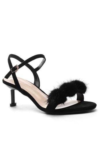 Twenty Eight Shoes Fur Ball Heels Sandals 365-30 B14ACSH522154DGS_1