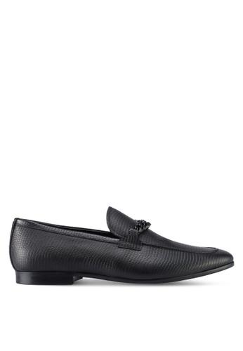 ALDO black Royton Loafers 7C747SH89F5299GS_1