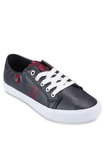 撞色繫帶休閒鞋,esprit 兼職 女鞋, 鞋