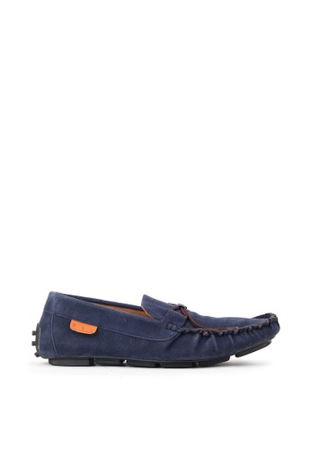 Navara blue Aland Blue Driving Loafers F97AFSH5C158DBGS_1