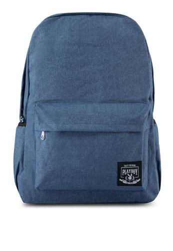 Playboy blue Playboy Backpack PL371AC0SJZCMY_1