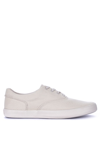 Sperry white Wahoo CVO Flooded Sneakers EC03DSHB15C79DGS_1