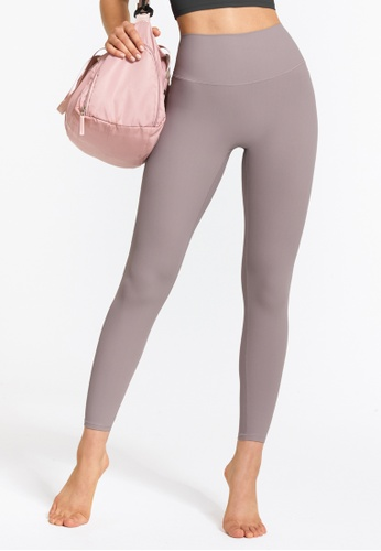 HAPPY FRIDAYS High Waist Nude Yoga Tights (No front crotch line) DSG-DS31 8BA96AAA41B60AGS_1