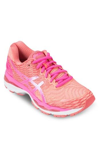 Gel-Nimbus 18 女性跑步zalora 男鞋 評價運動鞋, 女鞋, 運動