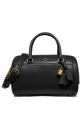 Coach black Zoe Satchel Bag (cv) A43A4ACDD93EC0GS_1