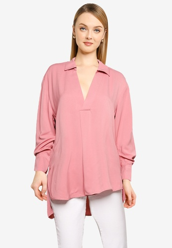 KOTON pink Casual Blouse CF338AA10FBF6FGS_1